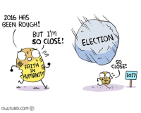 so close: 2016 HAS  BEEN ROUGH!  BUT I'm  SO CLOSE!  a  IN  owLTURD com  ELECTION  CLOSE  2017