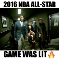 Kobe's Final All-Star game was LIT🔥 @infinitemixtape: 2016 NBA ALL-STAR  GAME WAS LIT Kobe's Final All-Star game was LIT🔥 @infinitemixtape