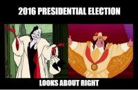 Like Alternative Disney for more!: 2016 PRESIDENTIAL ELECTION  LOOKS ABOUT RIGHT Like Alternative Disney for more!
