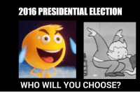 https://t.co/ZBw32ErOCg: 2016 PRESIDENTIAL ELECTION  WHO WILL YOU CHOOSE? https://t.co/ZBw32ErOCg