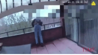 Via: @time - A video captured by the body cam of a Hamden police officer shows him saving, at the last second, a man who was attempting to jump off from the roof of the Whiney Center in Hamden, Conn., on April 21, 2017. Video source: Hamden Police Department. @pmwhiphop: 2017-04-21 T201011332 Via: @time - A video captured by the body cam of a Hamden police officer shows him saving, at the last second, a man who was attempting to jump off from the roof of the Whiney Center in Hamden, Conn., on April 21, 2017. Video source: Hamden Police Department. @pmwhiphop