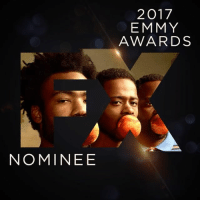 *pulls up to red carpet in invisible car* atlantafx emmys: 2017  EMMY  AWARDS  NOMINEE *pulls up to red carpet in invisible car* atlantafx emmys