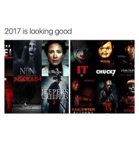 Tumblr, Urine, and Creeper: 2017 is looking good  CHUCKT  URIN  INSIDIOUS4  PERS  CREEPERS  HALLOWEEN  ANNAI OMG IM SO EXCITED wtab sextplay . - Follow @whattheactualbruh for more😩😂🙌🏼