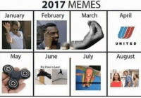 "<p>What do y'all think September&rsquo;s meme gonna be? via /r/memes <a href=""http://ift.tt/2er2SUt"">http://ift.tt/2er2SUt</a></p>: 2017 MEMES  February  January  March  April  UNITED  May  June  July  August  The Floor is Lava <p>What do y'all think September&rsquo;s meme gonna be? via /r/memes <a href=""http://ift.tt/2er2SUt"">http://ift.tt/2er2SUt</a></p>"