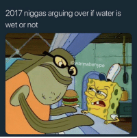 Water, Wet, and Remember: 2017 niggas arguing over if water is  wet or not  @wannabehype Y'all remember this? 😂💯 https://t.co/LIGCZK2UVV