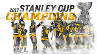 For the first time since 2016! The Penguins are Stanley Cup Champions!!!: 2017  STANLEY CUP For the first time since 2016! The Penguins are Stanley Cup Champions!!!