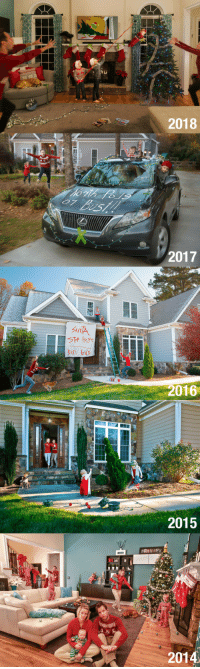 Christmas, Funny, and Essence: 2018  2017  2016  2015  2014 I try to capture the essence of raising boys in our Christmas cards. Now they have a baby sister. Here they are. via /r/funny https://ift.tt/2EsNiXm