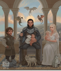 Memes, Happy, and Dragons: 2018 A potential happy ending? 2 dragons instead of 3 though😢👇