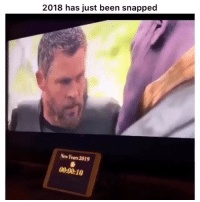 Funny, Lmao, and Been: 2018 has just been snapped  New Years 2019  00:00:10 Lmao yooo