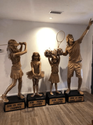 Every year Im able to talk my family into doing Halloween as a group costume This year we were hoping to win the trophy. (even though we dont enter any contests): 2018 US OPEN  2018 US GOLF2018 PRIMA  2018 CHEER  CHAMPION Every year Im able to talk my family into doing Halloween as a group costume This year we were hoping to win the trophy. (even though we dont enter any contests)