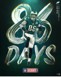 Philadelphia Eagles, Memes, and Philadelphia: 2018  ZACH ERTZ  TE / PHILADELPHIA EAGLES  2  2  2  2 Who's ready for some 🏈🏈🏈?  86 days to go! #Kickoff2018 https://t.co/LvX4kRrjf2