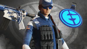 Ash, Memes, and Happy: 2019  cocooo If you missed the announcement during the #RaleighMajor, we are happy to share that we have some brand new EG items coming to @Rainbow6Game!  Starting September 10th, Ash is going to #BleedBlue with new weapon skins and a new charm! https://t.co/Zpj2h5NUS8