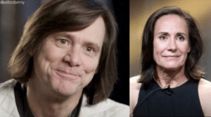 2019 Jim Carrey is turning into Aunt Jackie from Roseanne: 2019 Jim Carrey is turning into Aunt Jackie from Roseanne