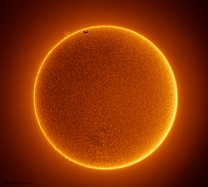 Space, Sun, and Space Station: 2019 Rainee Colacurcio The Space Station Crosses a Spotless Sun