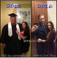 "Advice, Ass, and Drinking: 201e  MMMAZACH  -400 lbs combined lost lmber & zach  .Hoo  e During 2013-2016 my wife Amber and I lost -400 pounds of weight combined. She is down -50 from her heaviest, I am -350 myself. @mmazach MY ADVICE TO ALL👇 - 1.) Make a DAILY FOOD LOG for ACCOUNTABILITY. Write down everything that you eat and drink. (Holy Grail to Weightloss) ▫️ 2.) ❌ Sugar, Soda, Breads, Starches, Grains, Carbs, Pasta, Boxed Food, Fried Food, Fast Food. Cow and Pork are on my do not eat List simply due to how fat the animal are ▫️ 3.) ✅ Turkey, Chicken, Fish, Miller, Quiona, Eggs, Veggies (Colors), Fruit (Tropical), Coconut Water (Good for popsicles), think eating and drinking food from the planet, not scientifically altered by man (Box stores) ▫️ 4.) When you cheat, don't lie to yourself saying you didn't! (You know what I mean) We all cheat at a point, it's simply to eat with something not as unhealthy, many new products and easy good to make for cravings. ▫️ 5.) Hold yourself accountable your actions. (Stop blaming others, take responsibility for ones actions.) I can't, Impossible, My life, all those are BULLSHIT excuses, I have been far worse off than many who read this, only you empower and hold you back. If you want to be lazy, be lazy then, don't judge others who take control, If you need help, ASK myself and many more are always taking time from our lives to help motivate others. If you truly want to help try take those steps you'll see it's easier once you start! ▫️ 6.) If you really want to change, you can & will if you try. It takes does time, sometimes weeks, months and years, yet, If I can do it, so can you! Remember why you set out to lose weight remember what inspires you remember what motivates you. If you like me find your ""Peter Pan"" find your happy place, I found something that gets me up at a bed and motivate my ass to go every day and never questioned why until I get to where I'm completely happy with my surroundings and I'm almost there and everyone else can be to just start with small goals. ."