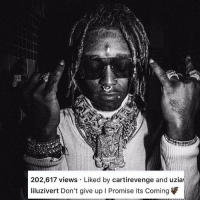 liluzivert says eternalatake is dropping real soon ‼️ Drop a date you think it's dropping ⬇️ Follow @bars for more ➡️ DM 5 FRIENDS: 202,617 views Liked by cartirevenge and uzia  liluzivert Don't give up I Promise its Coming liluzivert says eternalatake is dropping real soon ‼️ Drop a date you think it's dropping ⬇️ Follow @bars for more ➡️ DM 5 FRIENDS