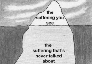 #2020 Beneath the surface, lots of people are suffering and struggling to cope with the seismic shifts  taking place.   #SaturdayMotivation #Wellness  #SaturdayThoughts #COVID19 https://t.co/rHMEYUr0if: #2020 Beneath the surface, lots of people are suffering and struggling to cope with the seismic shifts  taking place.   #SaturdayMotivation #Wellness  #SaturdayThoughts #COVID19 https://t.co/rHMEYUr0if