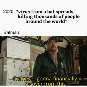 2020 is not a good year for Batman: 2020 is not a good year for Batman