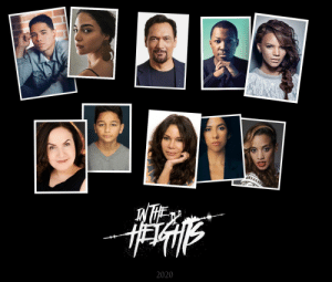 No more #InTheHeightsMovie casting announcements for awhile, we build from this foundation now. Quiara, Jon & I just wanted you to have the full set in one picture.  ❤️❤️❤️ https://t.co/d0inaQvLzc: 2020 No more #InTheHeightsMovie casting announcements for awhile, we build from this foundation now. Quiara, Jon & I just wanted you to have the full set in one picture.  ❤️❤️❤️ https://t.co/d0inaQvLzc