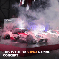 Memes, Iconic, and 🤖: 204  90  THIS IS THE GR SUPRA RACING  CONCEPT It's the first we've seen of the the car and it confirms that it will have the iconic Supra name!