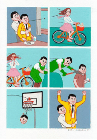Dank, Email, and Help: 20AN CORNELLA I need an assistant with painting skills (specially painting lines) to help me in Shanghai next month. If you know someone, please send an email to info@joancornella.net