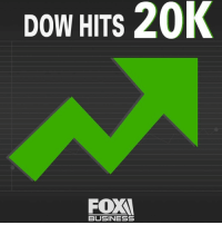 Memes, 🤖, and Dow Jones: 20K  DOW HITS  BUSINESS regram @FoxBusiness: Breaking News - The Dow Jones Industrial Average crossed the elusive milestone of 20,000 on Wednesday as President DonaldTrump demonstrates his seriousness about fulfilling campaign promises of lower taxes, less regulation, and more fiscal spending. Dow20K