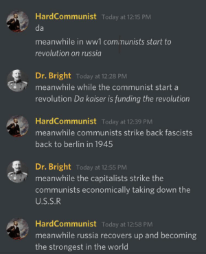 20th century explained by Discord: 20th century explained by Discord