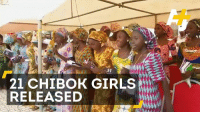 Girls, Memes, and Girl: 21 CHIBOK GIRLS  RELEASED Success for the Bring Back our Girls campaign: 21 of the 200+ people kidnapped by Boko Haram have been freed.