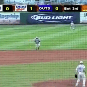 On this date in 2007, manager Butch Hobson of the Independent League Nashua Pride got ejected from the game...and then took a unique souvenir into the stands for a fan   (Video via thisdayinsportsclips/IG) https://t.co/3y3z6TlCmK: 21  OUTS O Bot 3rd  0  BUD LIGHT On this date in 2007, manager Butch Hobson of the Independent League Nashua Pride got ejected from the game...and then took a unique souvenir into the stands for a fan   (Video via thisdayinsportsclips/IG) https://t.co/3y3z6TlCmK