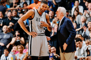 Tim Duncan has joined the Spurs as an assistant coach: 21 Tim Duncan has joined the Spurs as an assistant coach