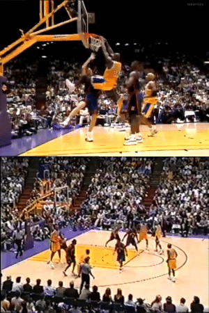 21 years ago today, @SHAQ did this to Chris Dudley!  Is this the most disrespectful play in NBA history? https://t.co/un93N3Dgfu: 21 years ago today, @SHAQ did this to Chris Dudley!  Is this the most disrespectful play in NBA history? https://t.co/un93N3Dgfu