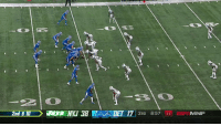 Espn, Memes, and The Game: 210  2nd &10NYJ 38 DET 17 3RD 6:57 11 MIN Darron Lee AGAIN!  The @nyjets' FOURTH INT of the game. #NYJvsDET #Jets  📺: ESPN https://t.co/mKWMgGdE5j