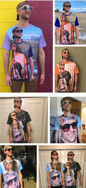 """""""Shirtception"""" - my favorite gift every year from my brother. We're now at level 6.: 218  2019  2118 """"Shirtception"""" - my favorite gift every year from my brother. We're now at level 6."""