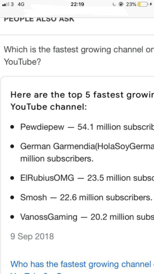 Million Subscribers