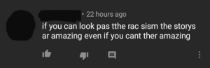 Videos, Amazing, and Engrish: 22 hours ago  if you can look pas tthe rac sism the storys  ar amazing even if you cant ther amazing Was looking through a Lovecraft video's comments and found this