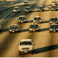 22 years ago today, OJ Simpson led the LAPD on a car chase in his Ford Bronco, live before 95 million viewers: 22 years ago today, OJ Simpson led the LAPD on a car chase in his Ford Bronco, live before 95 million viewers