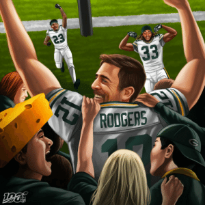 The @packers improve to 5-1! #GoPackGo https://t.co/5XAkHNQI5Q: 23  33  RODGERS  NFL The @packers improve to 5-1! #GoPackGo https://t.co/5XAkHNQI5Q