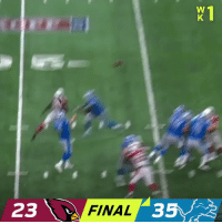 Memes, Lions, and 🤖: 23 FINAL35 The @Lions start the season 1-0! #OnePride #AZvsDET https://t.co/JAGLxUTaRr