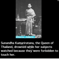 Did y'all like the new King Kong movie? I didn't know that Eazy-E and Dr. Dre were in it: 23  Horror  Addicts  Sunandha Kumarinatana, the Queen of  Thailand, drowned while her subjects  watched because they were forbidden to  touch her. Did y'all like the new King Kong movie? I didn't know that Eazy-E and Dr. Dre were in it