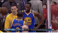 Basketball, Draymond Green, and Golden State Warriors: 23  TIO  GS  47  laid UTAH 40 2nd 2:28  24 Draymond Green GS: Technical Fou  BONUS TIMEOUT 5 Draymond reminds the Utah crowd that the Dubs hold a 2-0 series lead. 😂