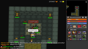 My literally first ever treasure rat room, and yes I still have the ogmur from last time *not trying to flex*: 235407  10  HotGandalf  Fame  504  HP 686/686 21 (+120)  Cowabunga!  MP 345/345|19 (+55)  T3  T13  T8  Its Pizza Time  UT  T4  7  6 /6  6 6  KMaster Rat> Hello young adventurers, will you be able to answer my question correctly?  KMaster Rat> What time is it?  HotGandalf> Its Pizza Time  Master Rat> Cowabunga! My literally first ever treasure rat room, and yes I still have the ogmur from last time *not trying to flex*