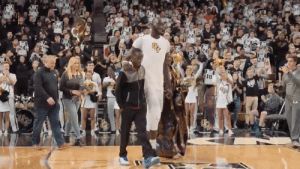 Tacko Fall sees his mother for the first time after seven years. She traveled from Senegal to UCF to watch him play for the first time ❤️  (via UCF Men's Basketball ): 24  24  10 Tacko Fall sees his mother for the first time after seven years. She traveled from Senegal to UCF to watch him play for the first time ❤️  (via UCF Men's Basketball )