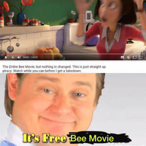 We need these heroes in this dark world by Urmomageylmao MORE MEMES: 24:32/1:35:21  The Entire Bee Movie, but nothing is changed. This is just straight up  piracy. Watch while you can before I get a takedown  Its Free Bee Movie We need these heroes in this dark world by Urmomageylmao MORE MEMES