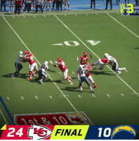 Memes, Chiefs, and Undefeated: 24 I3  FINAL  10 FINAL: @Chiefs stay undefeated! #ChiefsKingdom   #KCvsLAC https://t.co/eN9mYi56Cx