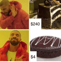 Memes, Cake, and 🤖: $240  $4 eat a whole woolies mud cake to be my friend