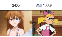 Lmao, Memes, and 🤖: 240p  HD 1080p once a tsundere, always a tsundere lmao ✨A