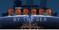Birthday, Happy, and Navy: 243RD NAVY BIRTHDAY  BY THESEA Happy 243rd Birthday to our GREAT U.S. Navy! #243NavyBday