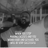 The 🔑 to success by @djkhaled 🔥 Tag someone who should see this 👇 . 📷 by @djkhaled 👌: 24hoursuccess  WHEN YOU STOP  MAKING EXCUSES AND YOU  WORK HARD AND GO HARD, YOU  WILL BE VERY SUCCESSFUL The 🔑 to success by @djkhaled 🔥 Tag someone who should see this 👇 . 📷 by @djkhaled 👌