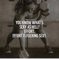 Memes, Sexy, and Crossfit: 24hoursuccess  YOU KNOW WHAT'S  SEXY AS HELL?  EFFORT  EFFORTISFUCKINGSEXY Be sexy - make an effort, not an excuse 💪 . 📷 by @recon_ro, @lgrellinger, @crossfit 👌