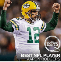 Aaron Rodgers named NFL best player!!!!!: 25  BEST NFL PLAYER  AARON RODGERS Aaron Rodgers named NFL best player!!!!!
